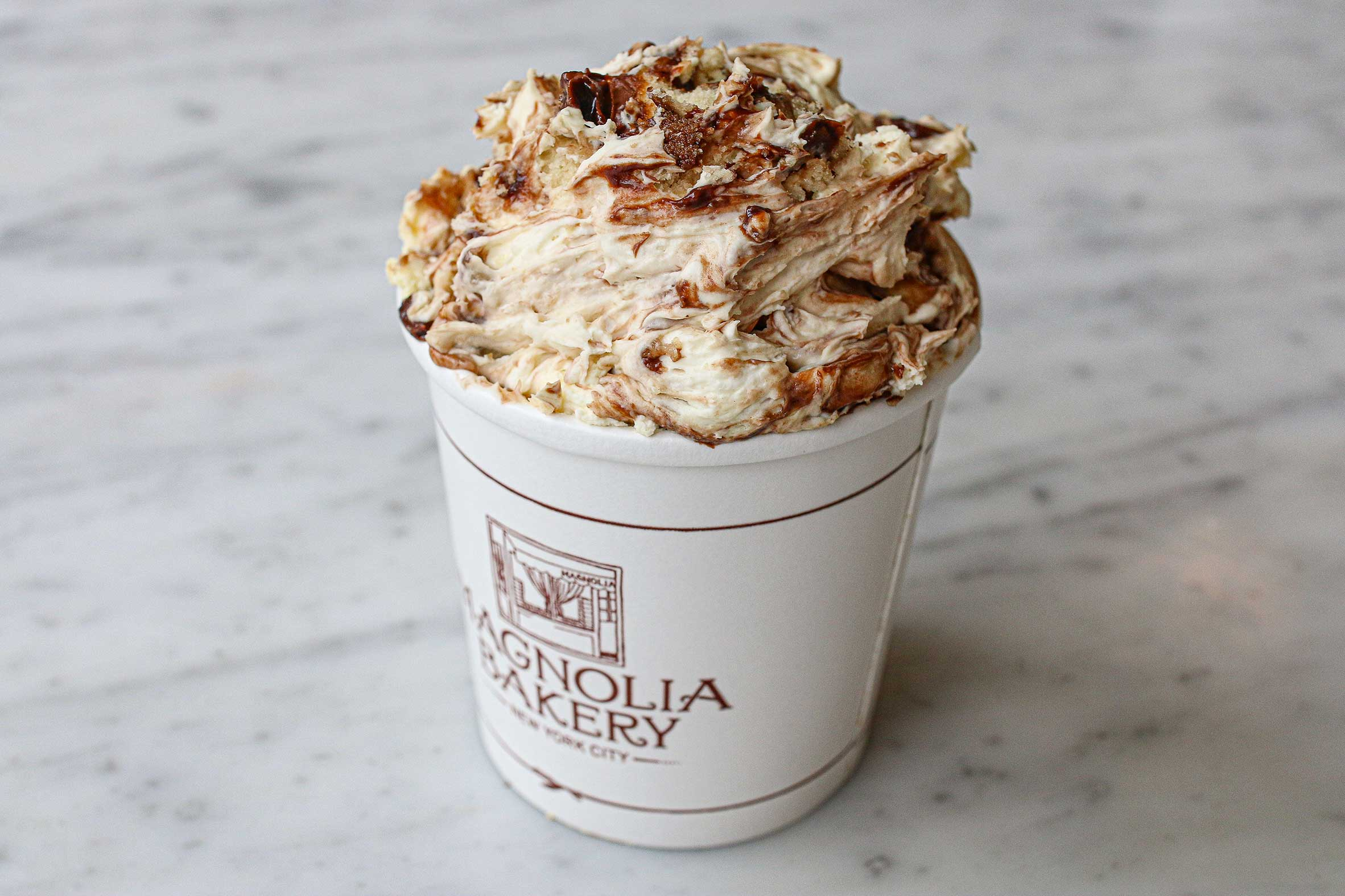 Chocolate Hazelnut - Layers of our classic banana pudding (vanilla pudding, bananas and vanilla wafers) with a decadent layer of Nutella®.August 12-18