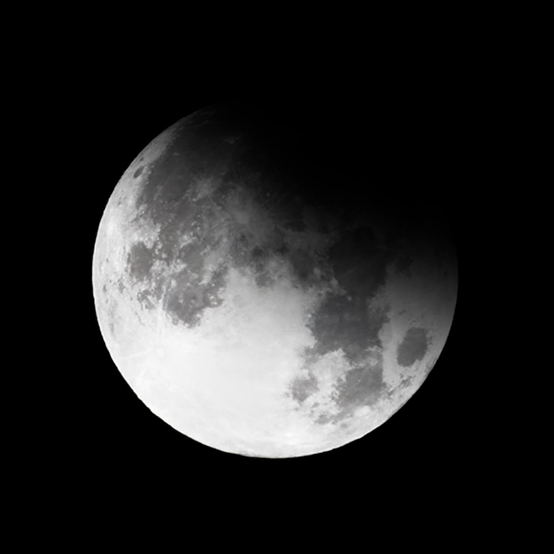 2. Partial eclipse begins