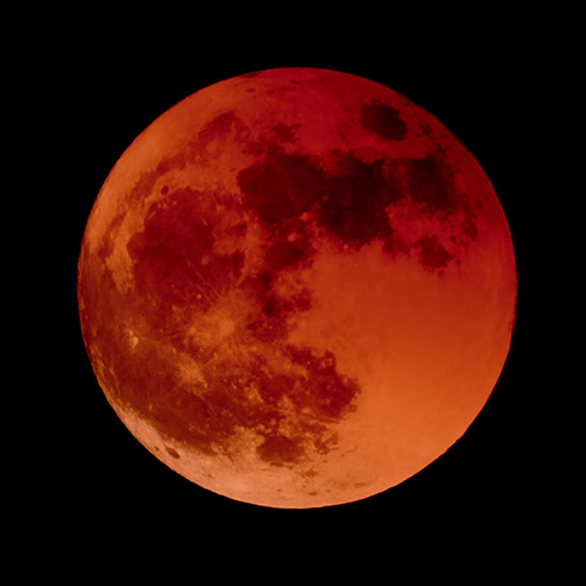 3. Total eclipse begins