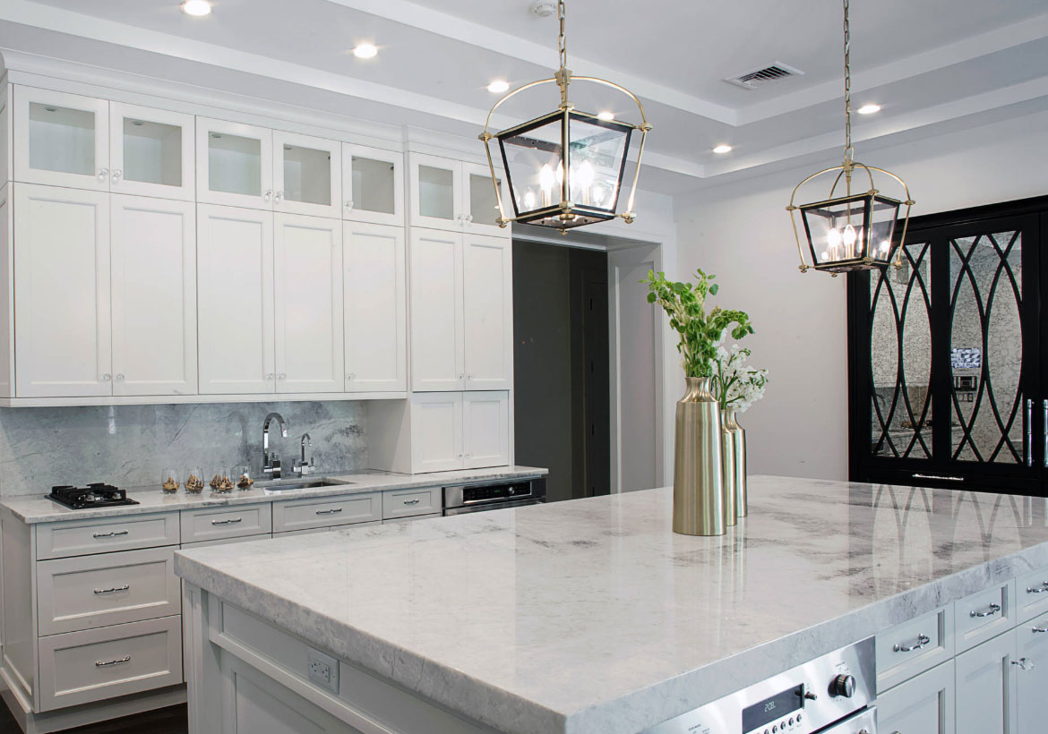 QUARTZITE - Like granite, quartzite is a natural stone that looks like marble and performs like granite.If you are looking for a natural stone with a very unique look, quartzites may be a great option for you.
