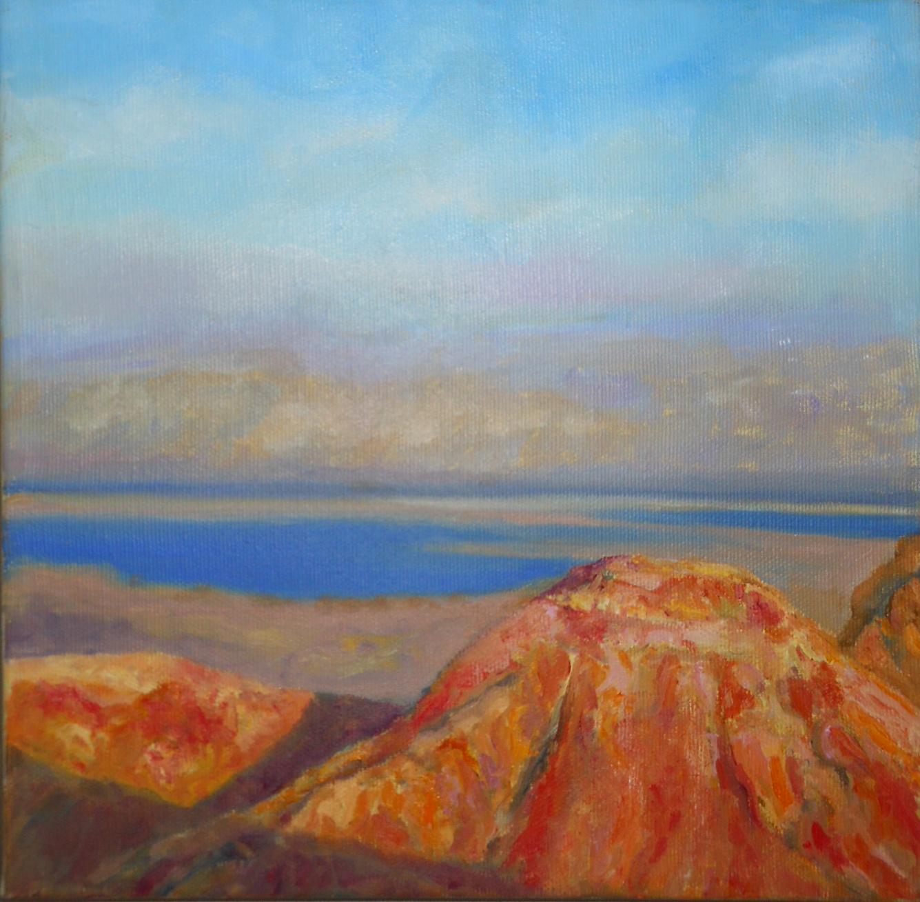 The Desert  Oil on canvas. #A40