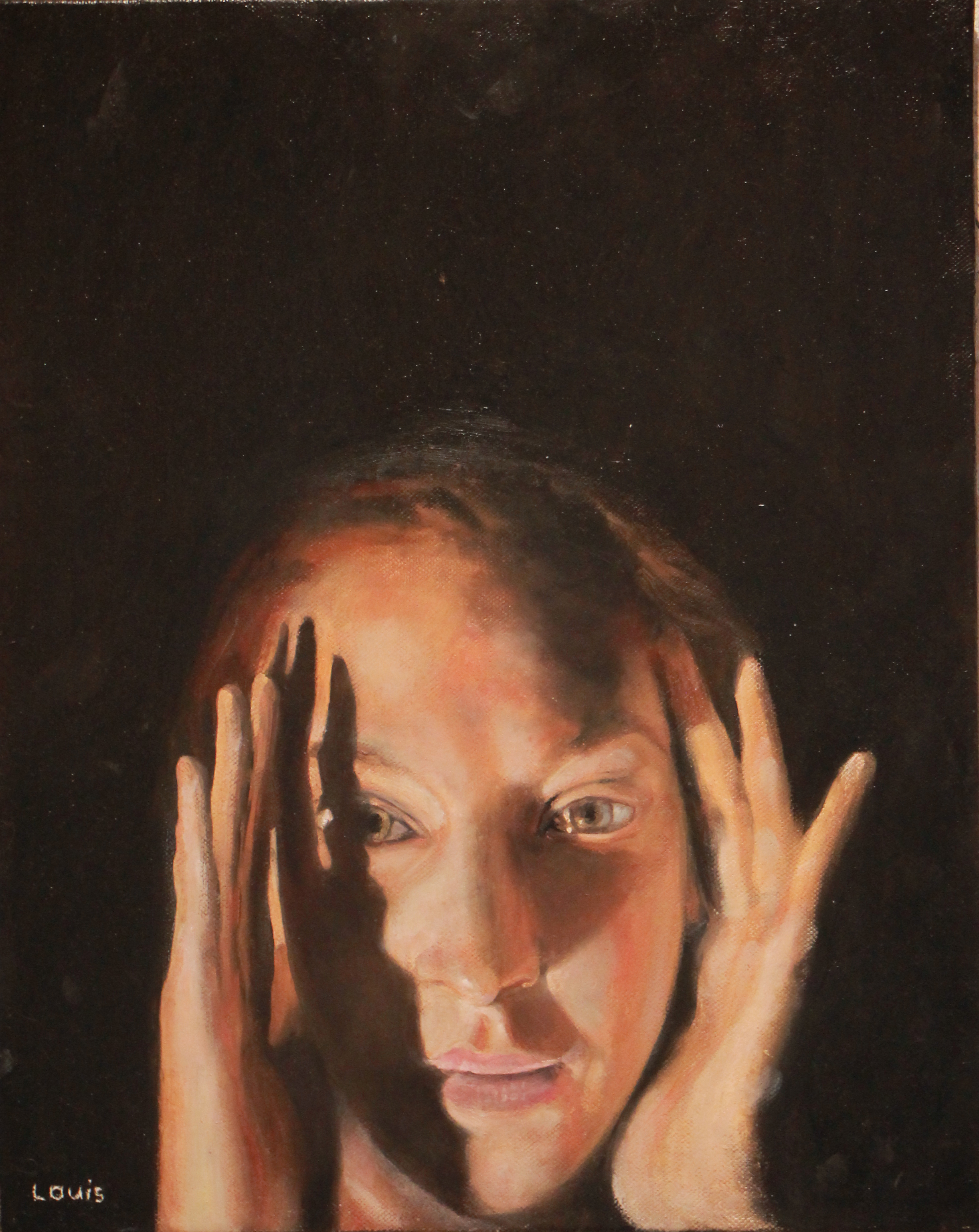 Hodaya  30 x 40 cm, oil on canvas. #A18 - 2016