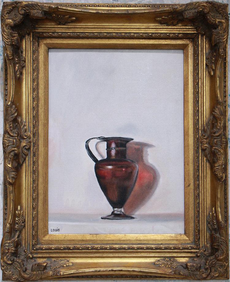 Byzantine Pitcher  47 x 56 cm, oil on canvas. #A3 2016
