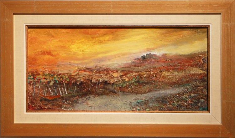 Winery Lachish  40 x 20 cm, oil on canvas. #A27 - 2007