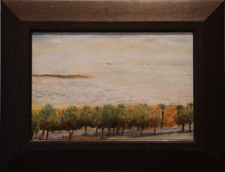 The Dead Sea  57 x 42 cm, oil on canvas. #A9 - 2008
