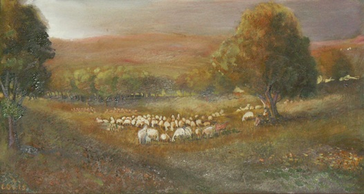 Pastures  Oil on canvas. #A33