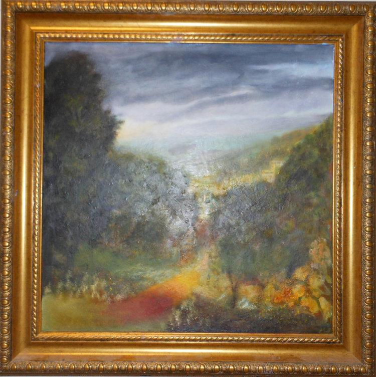 The Path Forward  Oil on canvas. #A38