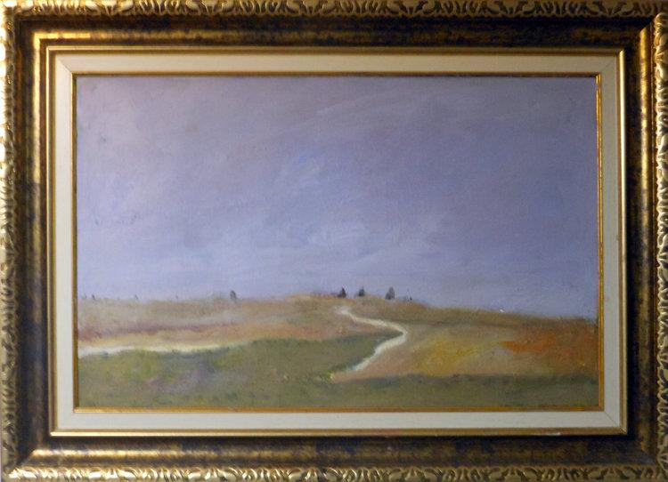 Open Range  Oil on canvas. #A42