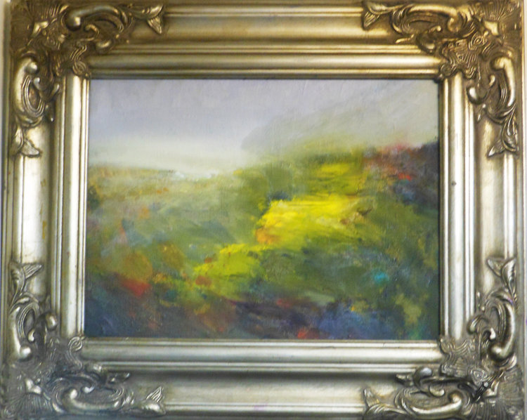 Imagined Green  Oil on canvas. #A59