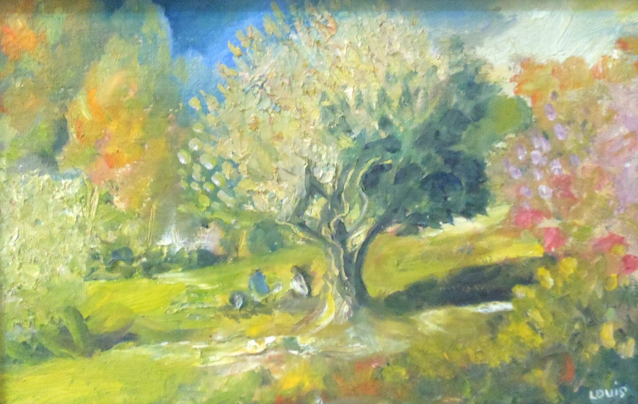 Joyous Park  Oil on canvas. A#60