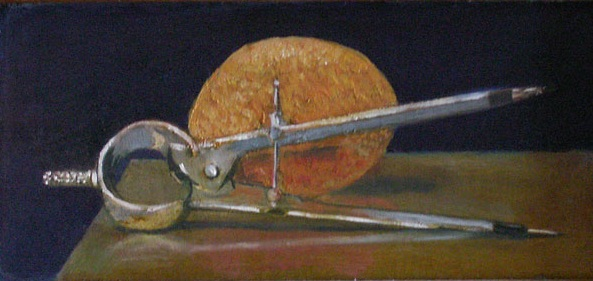 Measure  Oil on canvas. #A88