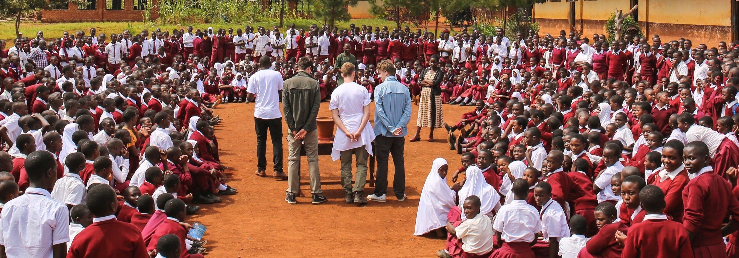 Unser Projekt Waterfilter vor Ort in Tanzania