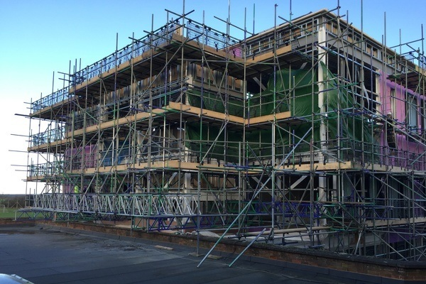 Contract Scaffolding - From single storey to multi storey projects we cover all your scaffolding and access requirements including engineered design.