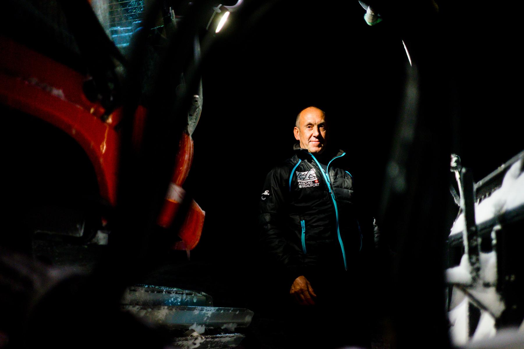 Serge, conducteur d'engin de damage - Arêches-Beaufort (73)