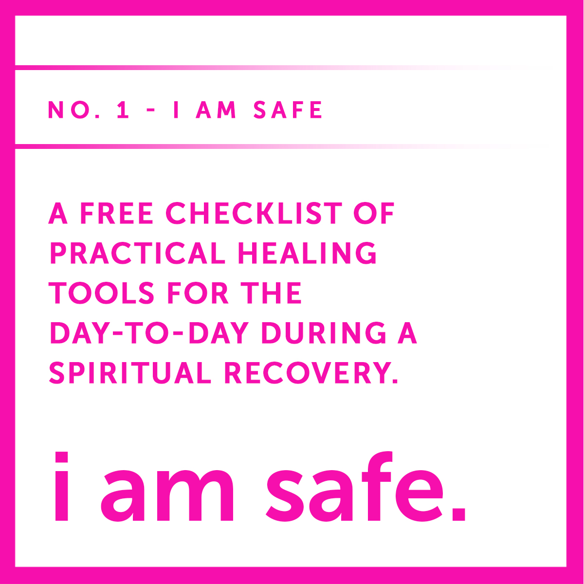 I AM SAFE one free checklist .jpg