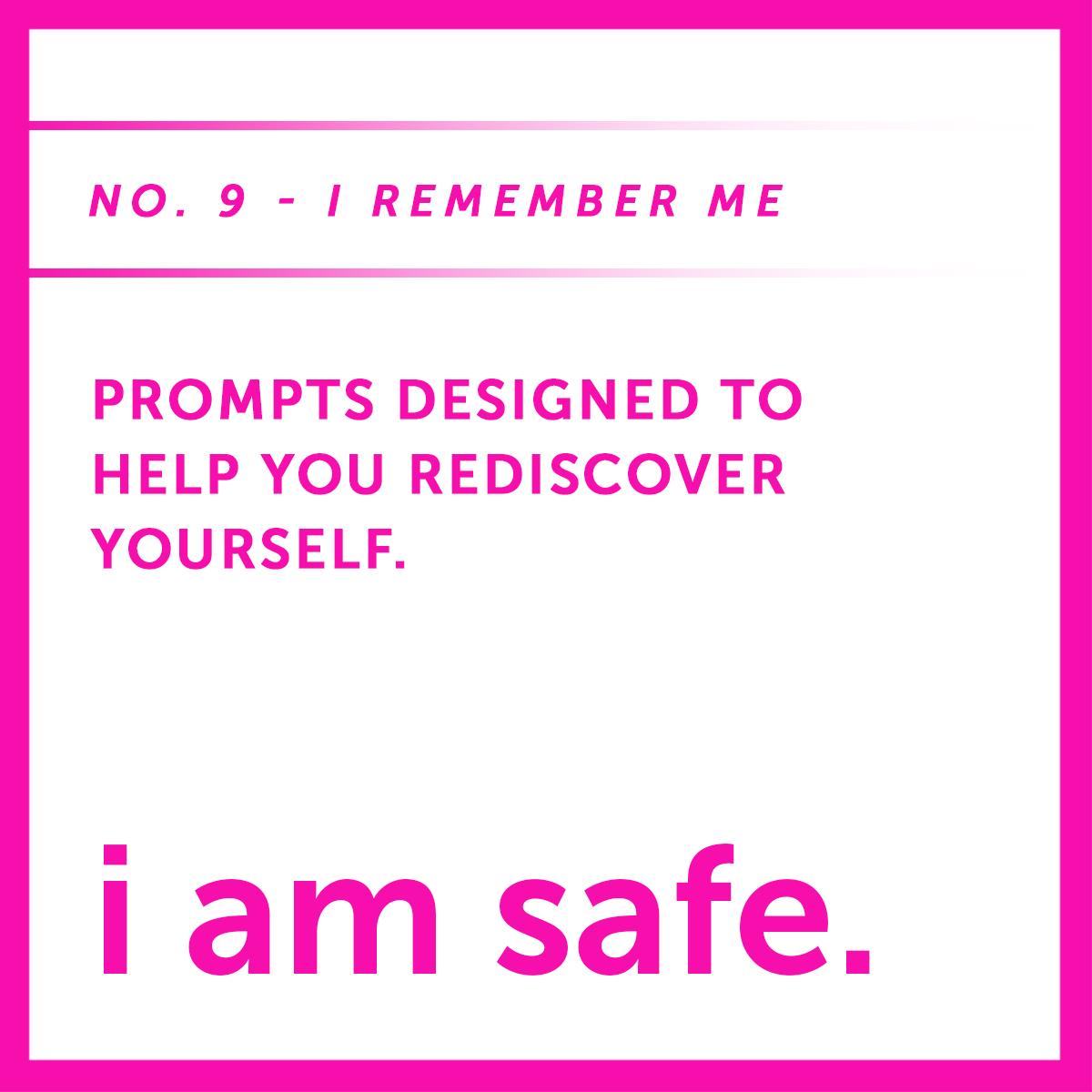 I AM SAFE nine i remember me.jpg