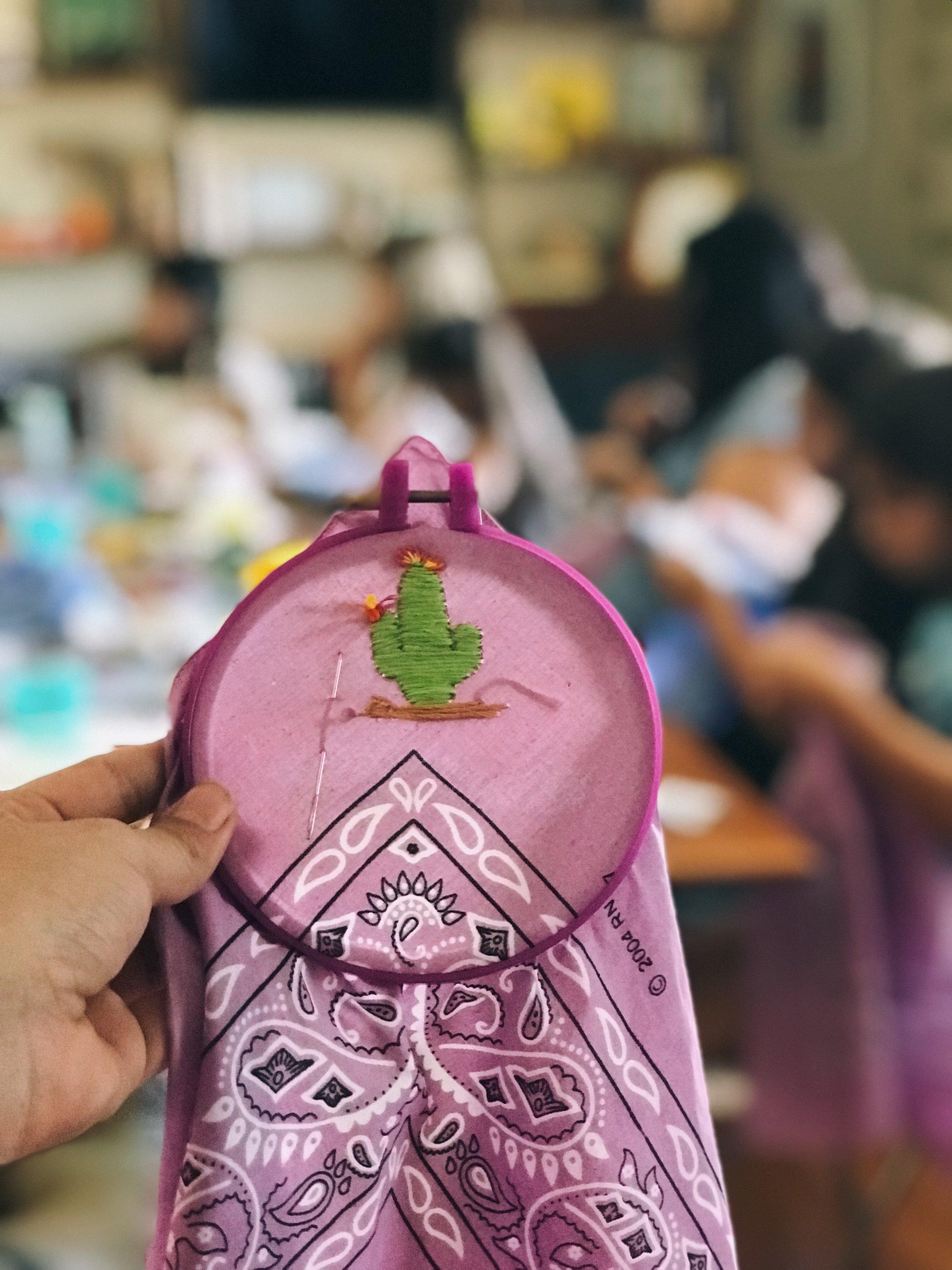 Kids Embroidery Workshop