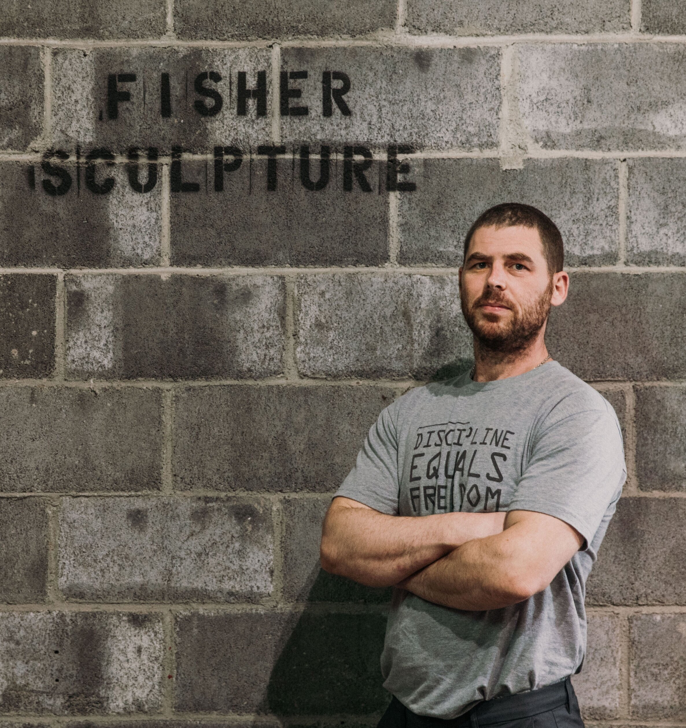Chad Fisher - I am inspired by nature to create a visual language to communicate with the world around me. My early interest in nature matured to an absolute admiration for one of nature's most beautiful creations, the human figure. The work of my studio looks back through the history of sculptural forms and engages contemporary art themes and my relationship to the figure today.Learning to cast figures in bronze was not a linear path. Even harder than learning to cast in bronze was trying to find authentic information about the figure. After the 18th century formal instruction faded, the figure did not generally include discussion of how ligaments muscles and bones anatomically connect so that the body can represent movement, energy and dance. For 12 years I traveled the United States and Europe piecing together my personal solutions to Fine Art Figurative Sculpture.When I am not in the studio/foundry I am spending with my family. My incredible wife and I have 4 amazing children and we are looking forward to adding a four legged friend in the near future. In 2019 I began studying brazilian jiu jitsu.Thank you to my instructors: Gary Weisman, Stephen Perkins, Myron Barnstone, Michael Grimaldi, Dan Thompson, Kate Lehman, Jon DeMartin, Kevin P. Lewellen, Stuart Mark Feldman, John Horn, Al Gury, Renée P. Foulks, Anthony Visco, Steven Weiss, Frank Porcu, Joseph Petrovics, Greg Wyatt, John English, John Peacock, Treacy Ziegler, Alexander Hromych, Maren Hassinger, Patrick Kipper and Fran Fisher.