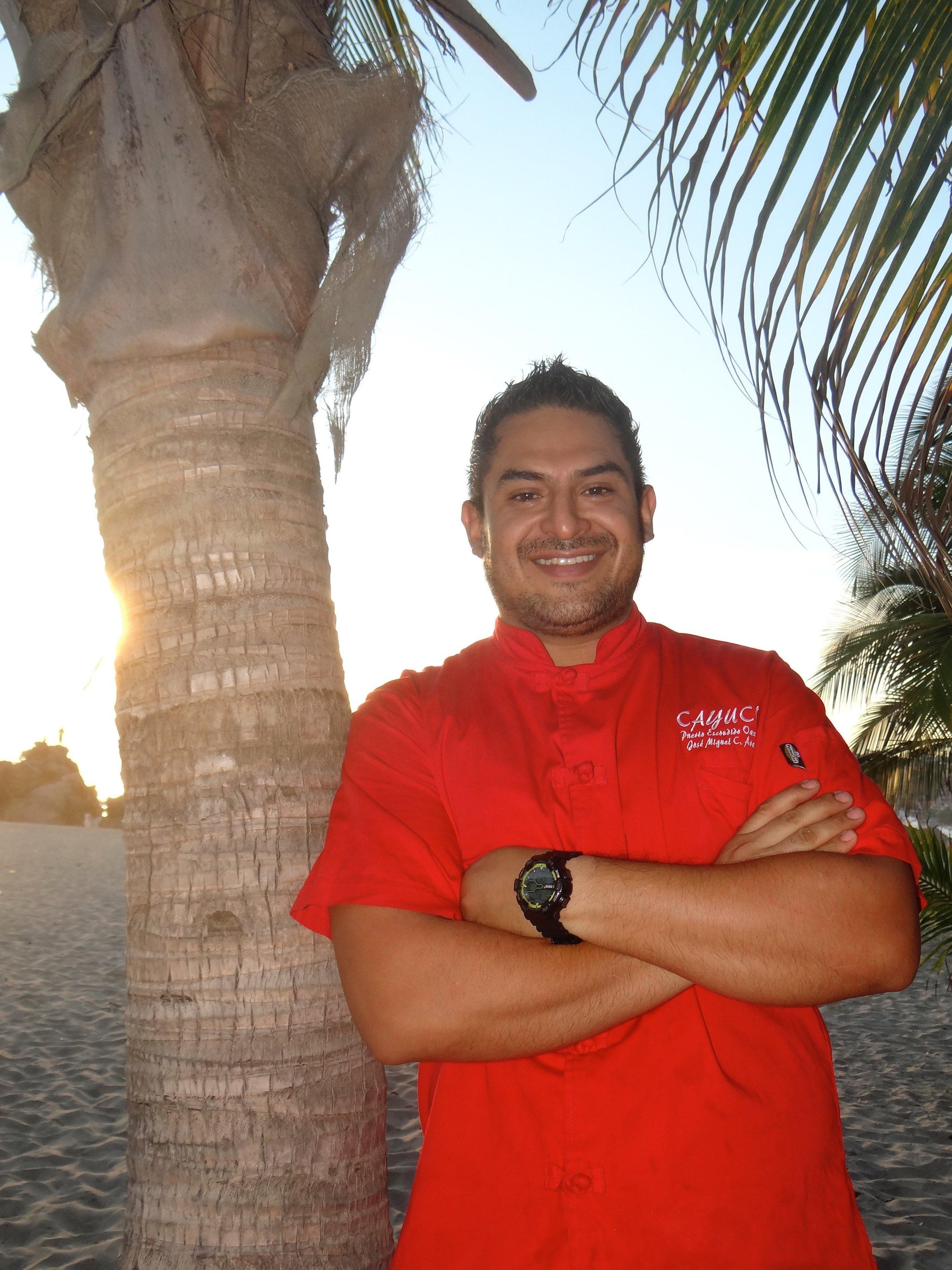 Chef José Miguel Arana   6 Diciembre