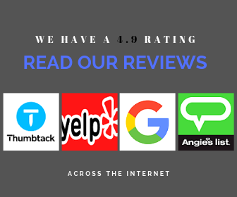 100+ Reviews 4.9 rating across the internet
