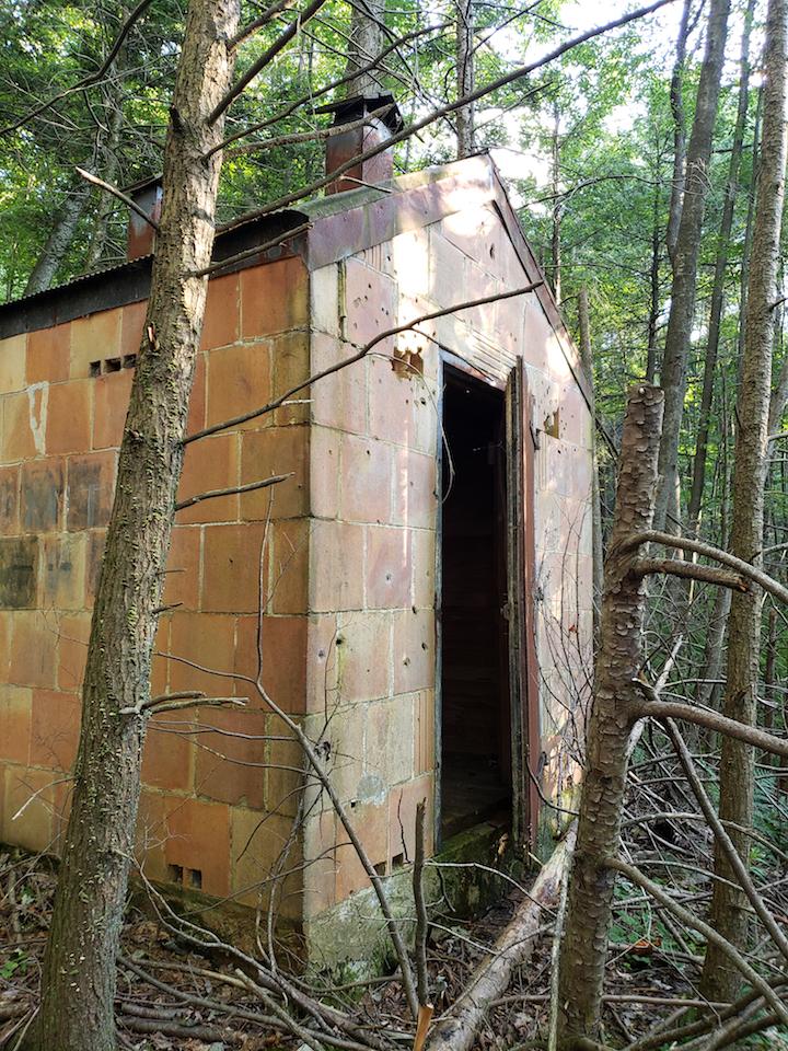 The dynamite shack