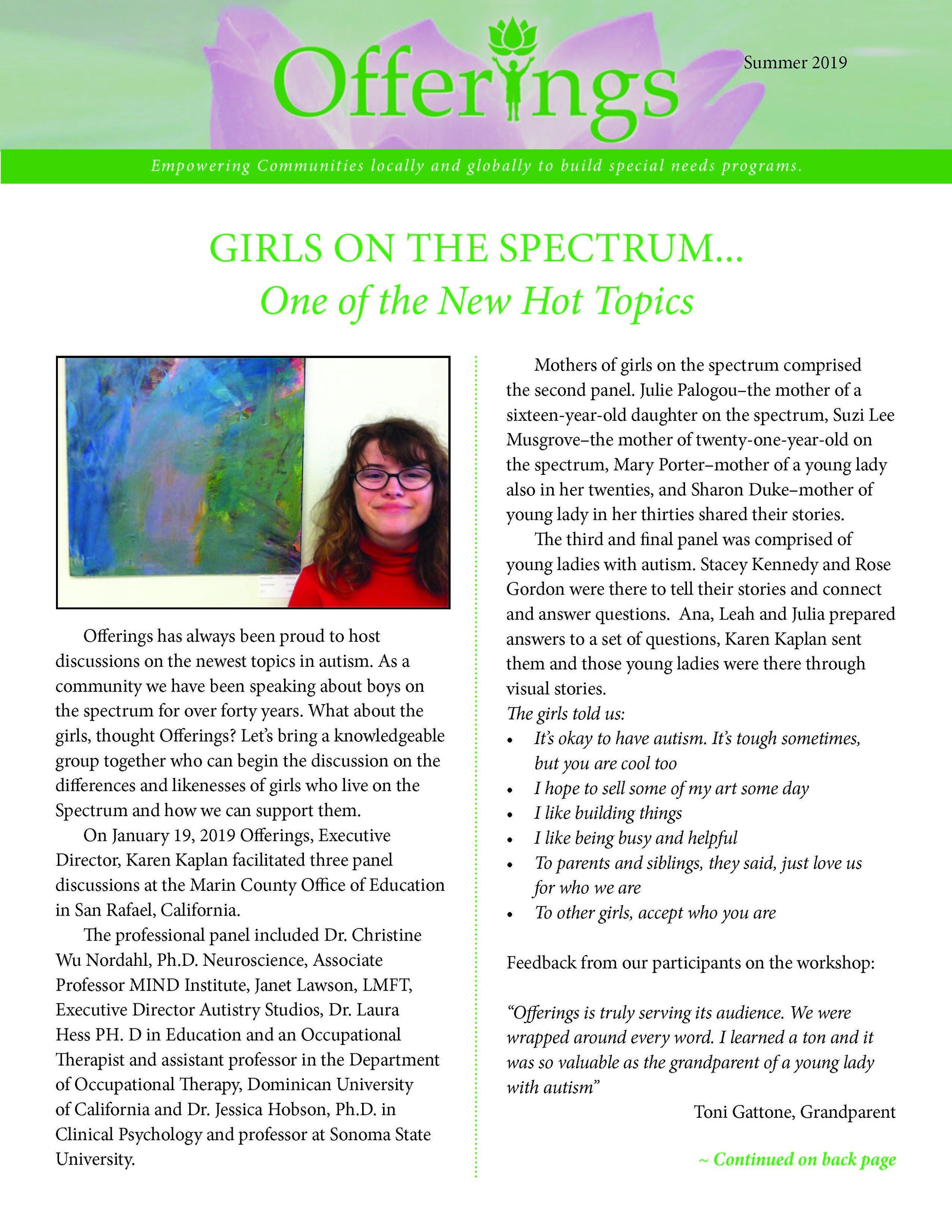 Summer '19 Newsletter -