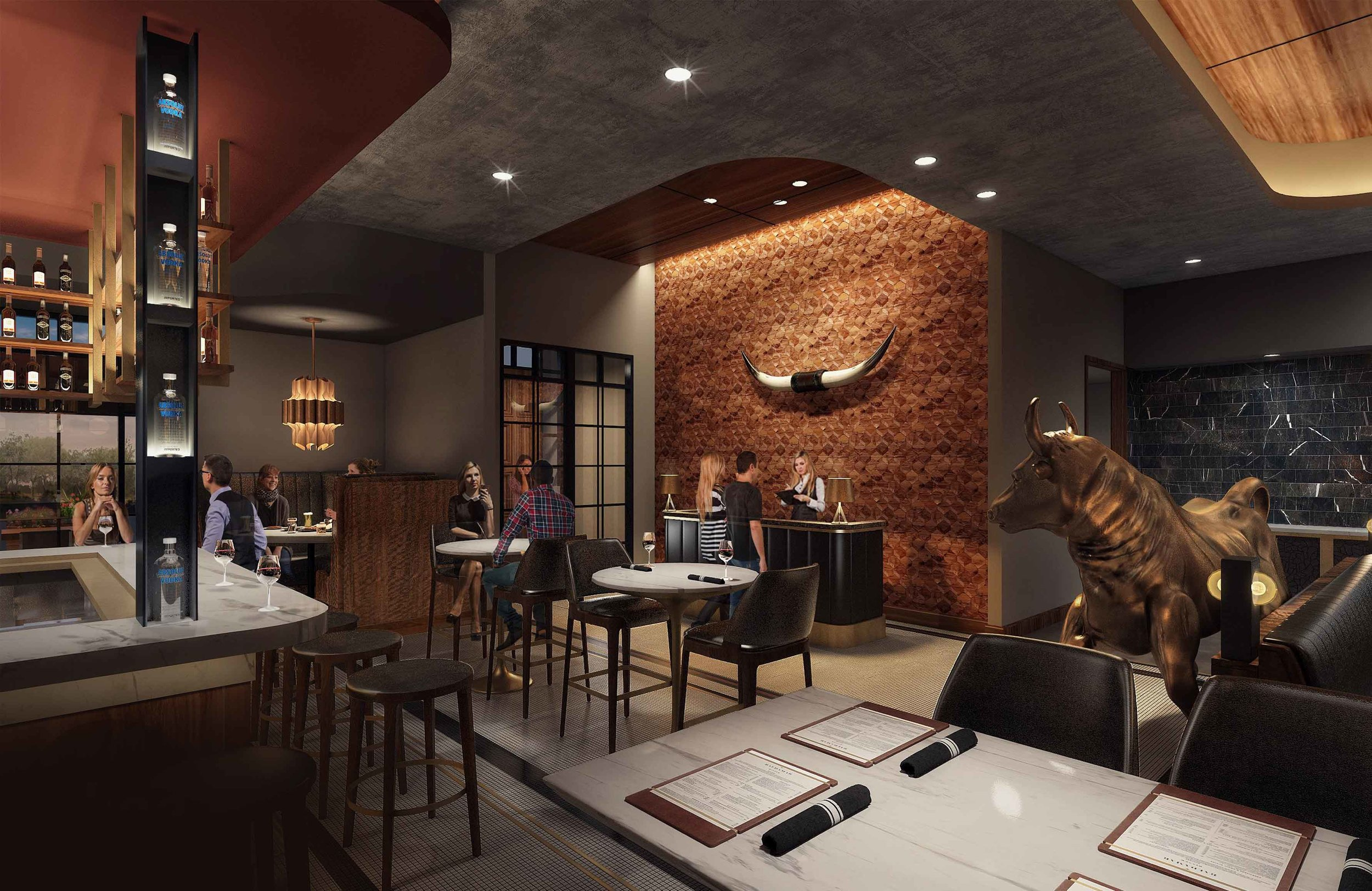 Enjoy a unique dining experience overlooking Lake Minnetonka - A one-of-a-kind space that can be tailored to any event need. Accommodates up to 56 guests and is semi-private. AV upon request.