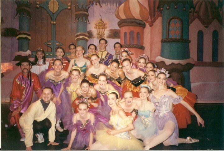 Chamberlain Ballet dancers in the 1990s.JPG