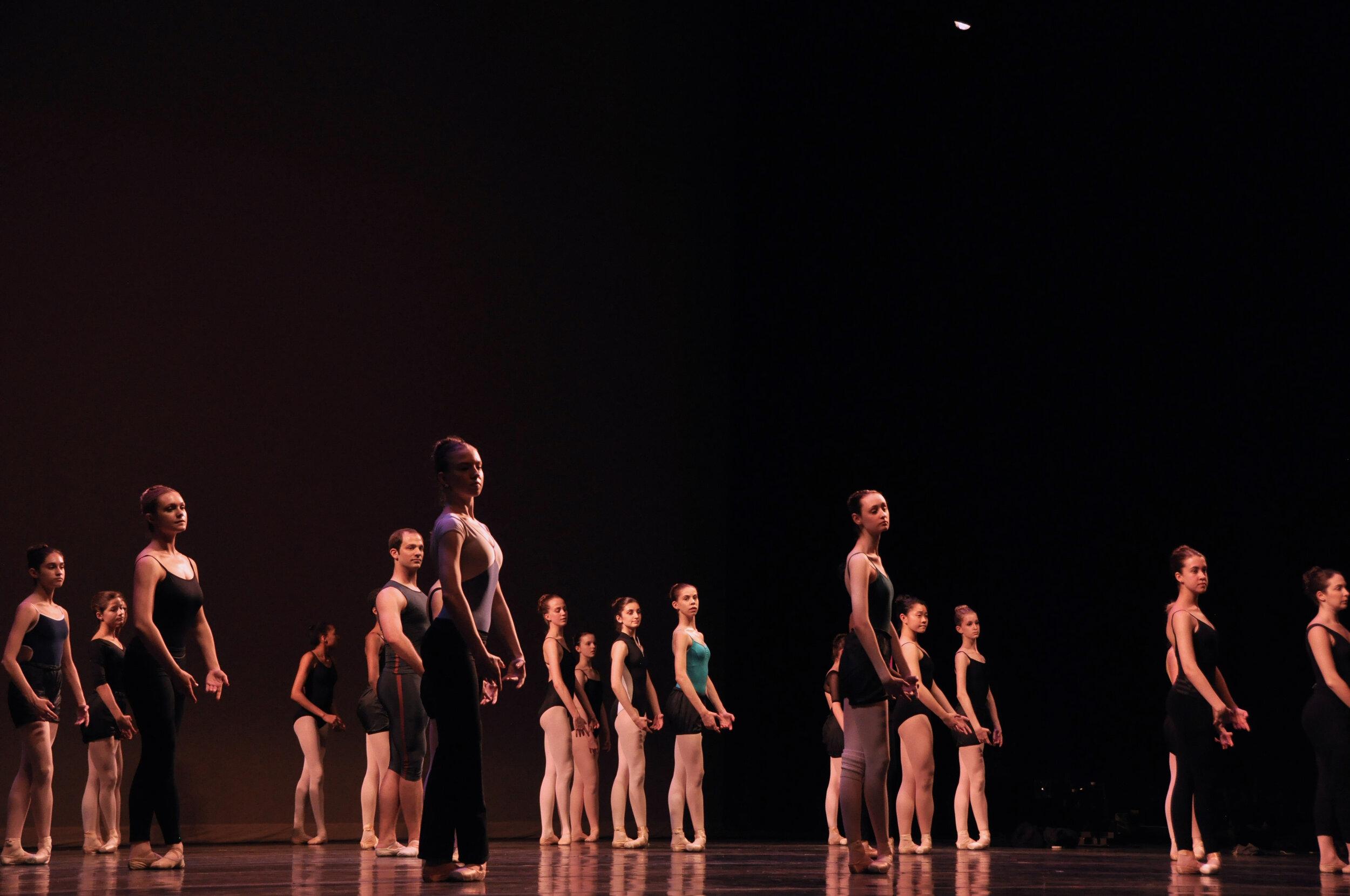 Chamberlain Ballet - Focal Pointe Warmup