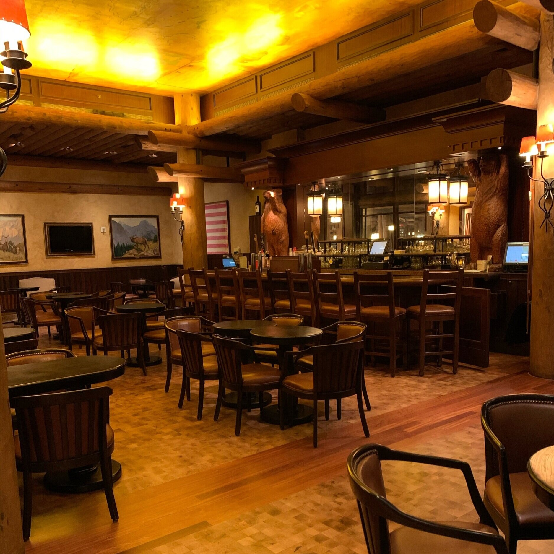 Territory Lounge at Disney's Wilderness Lodge