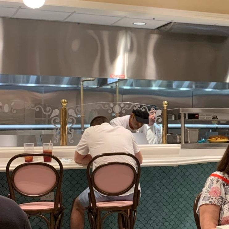 Counter Area & Kitchen (Beaches & Cream Soda Shop)