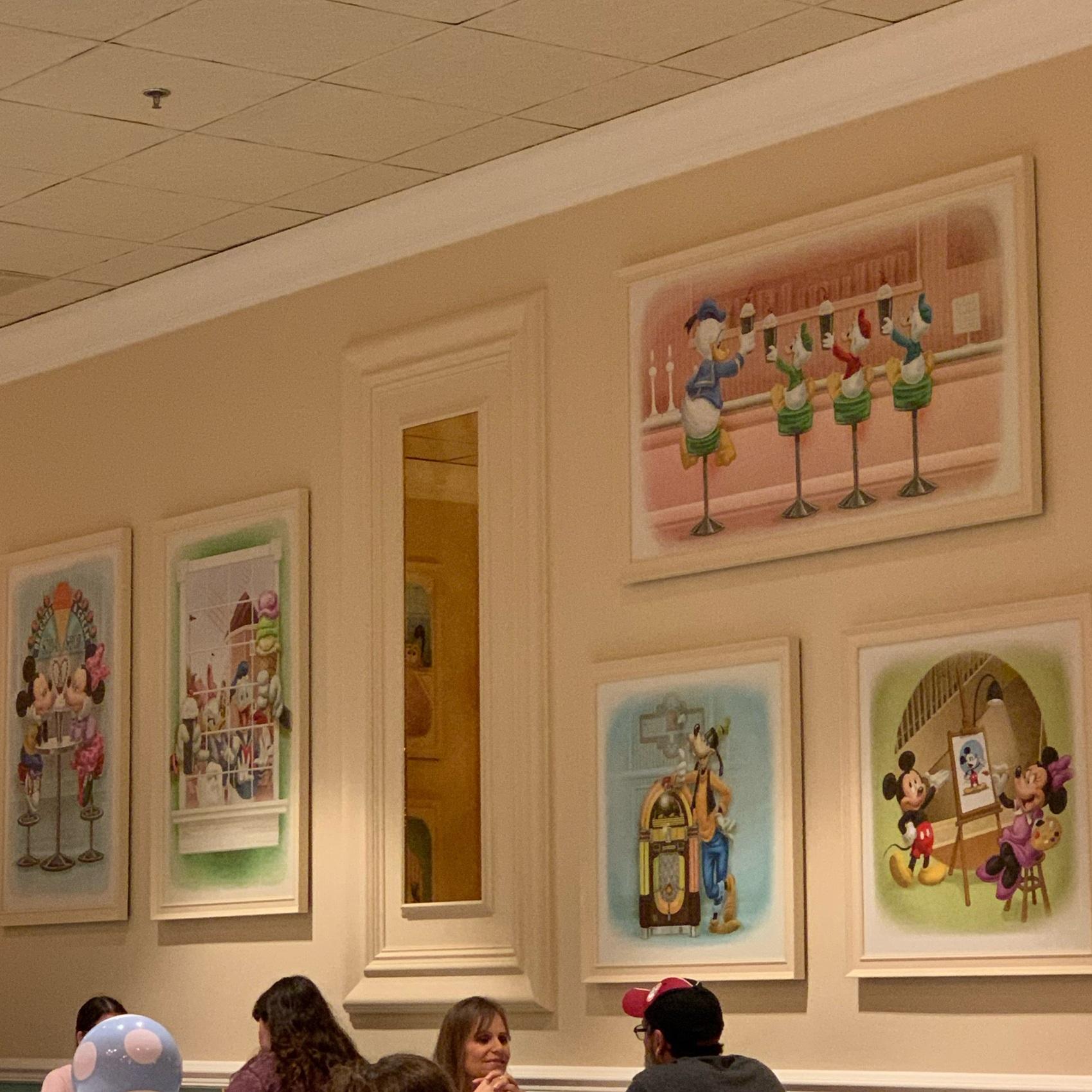 Disney Artwork at Beaches & Cream (Beaches & Cream Soda Shop)