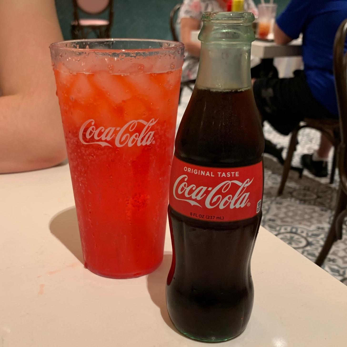 Cherry Soda and Classic Coke