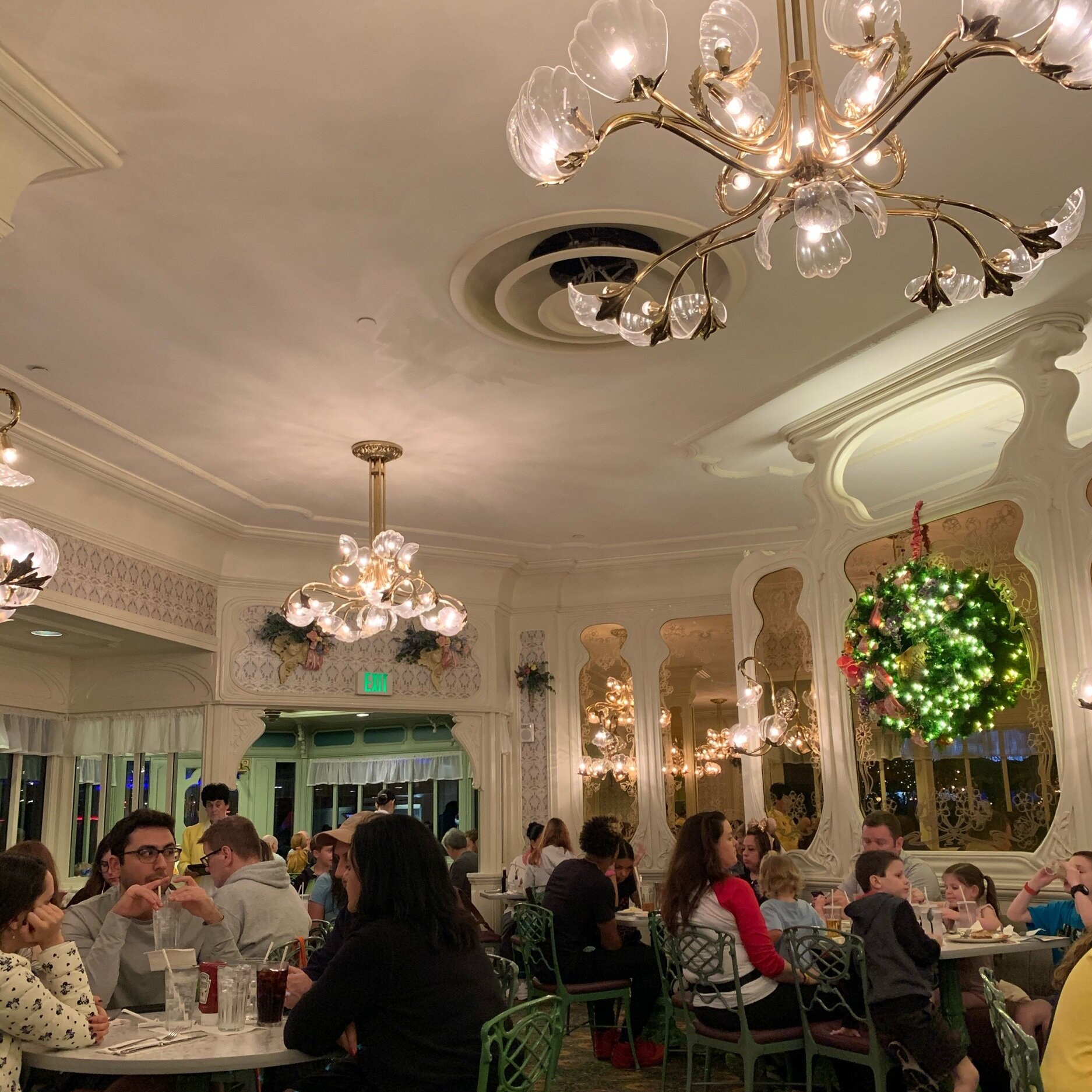 Dining Room at The Plaza Restaurant
