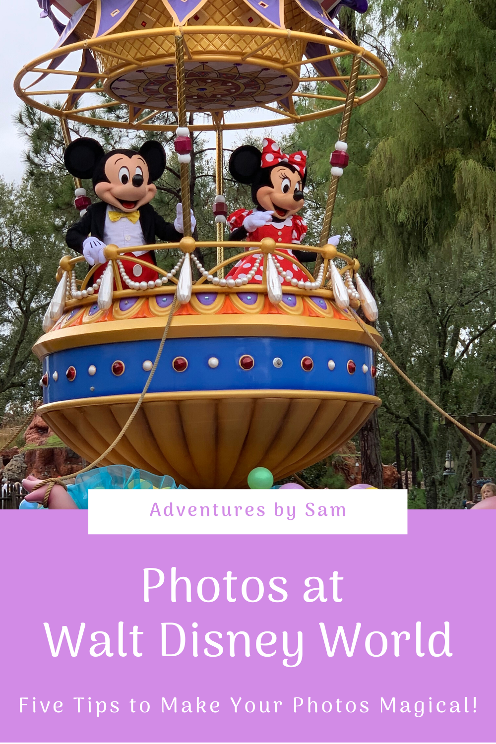 Tips for Taking the Best Photos at Walt Disney World (Thumbnail)