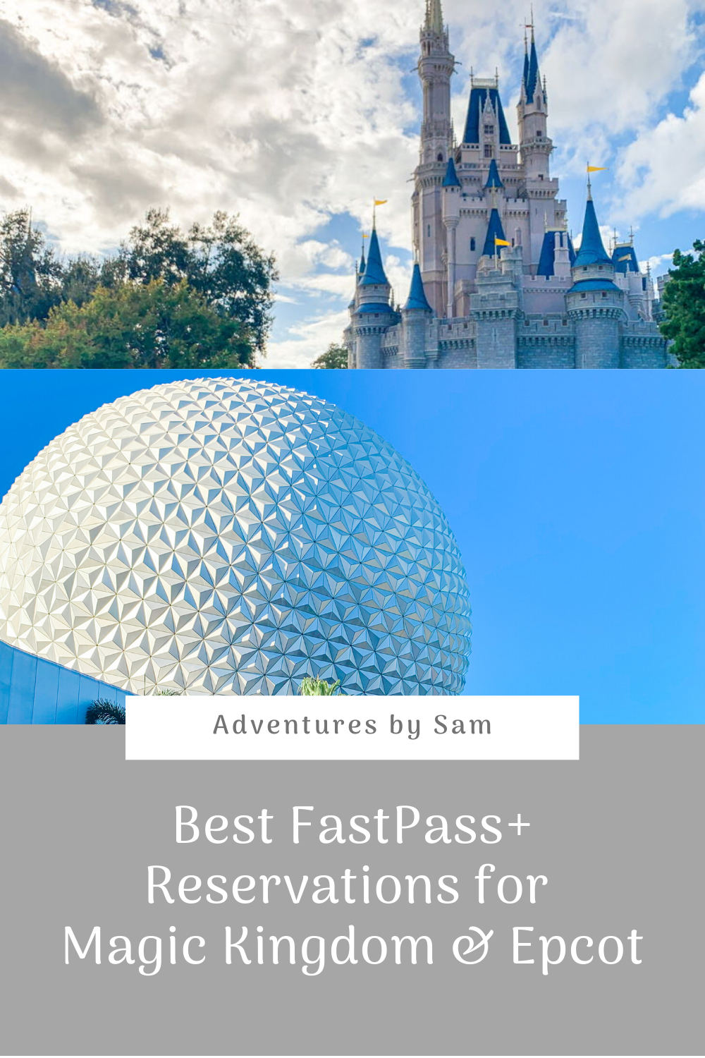 Best FastPass+ Reservations for Magic Kingdom & Epcot (Thumbnail)