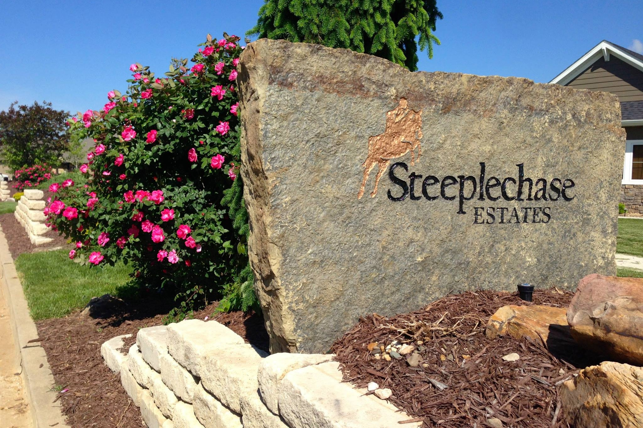 Steeplechase Estates - New slab and walk-out homes from the mid $200,000s to the mid $500,000s!