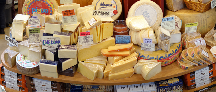 There's enough cheese in the world. You don't need to provide any more.