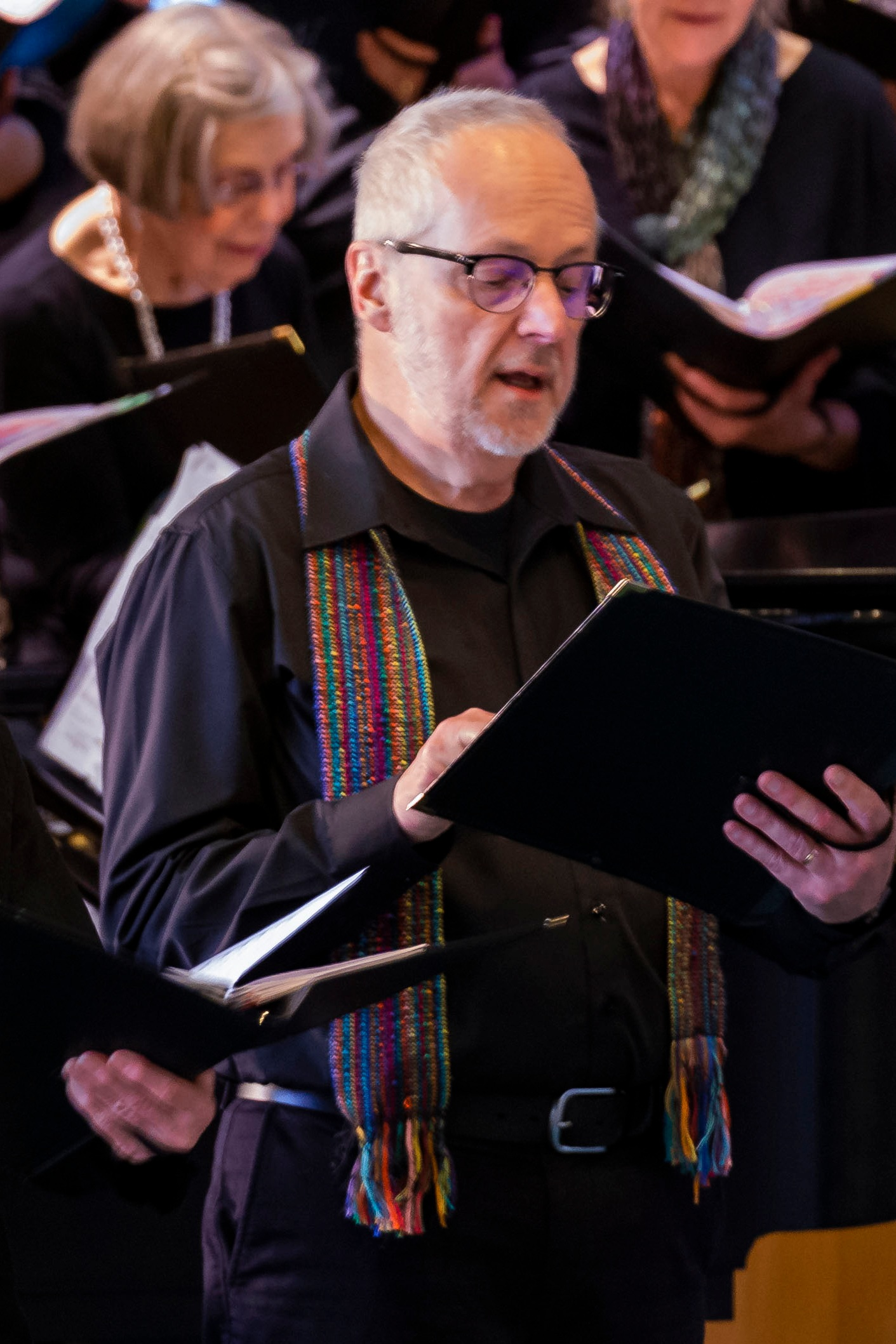 Bill Turnbull, Vice-president   Bill has sung Tenor with BCC since 2017. You'll see him on guitar as well!