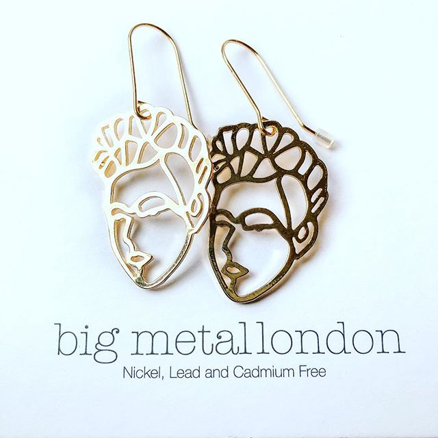 New in from @bigmetallondon full range including necklaces and bangles available in store now! #bigmetallondon #fashion #faces #earrings #icenine #nottingham