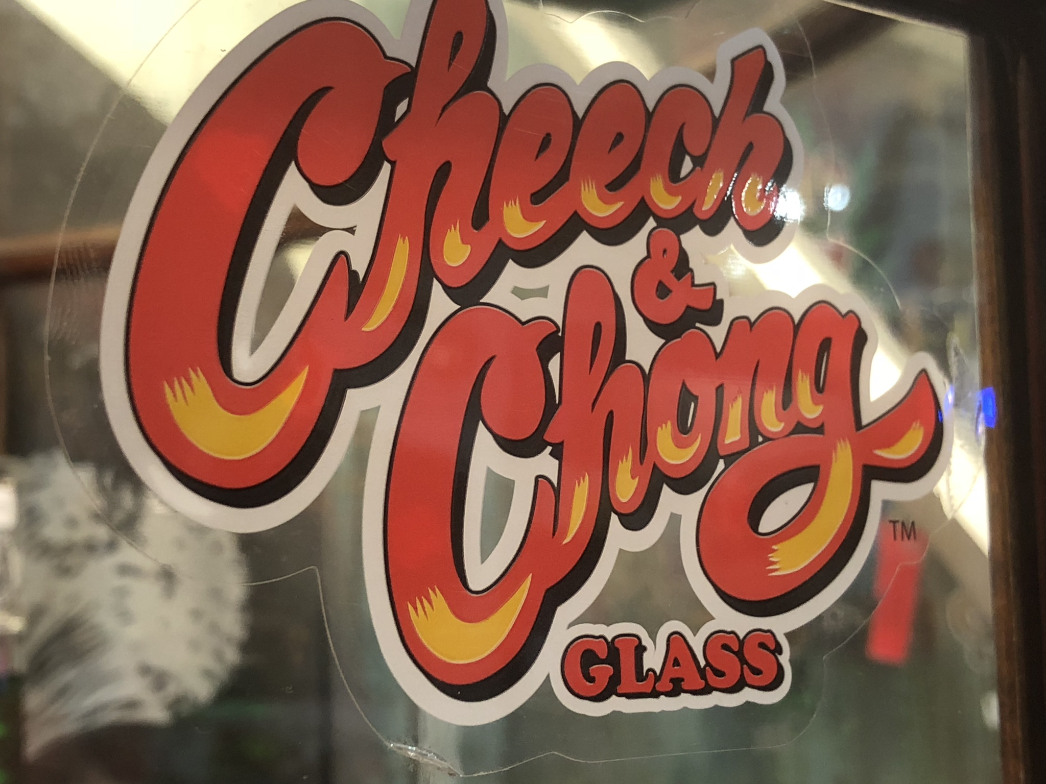 Officially licences cheech and chong glassware