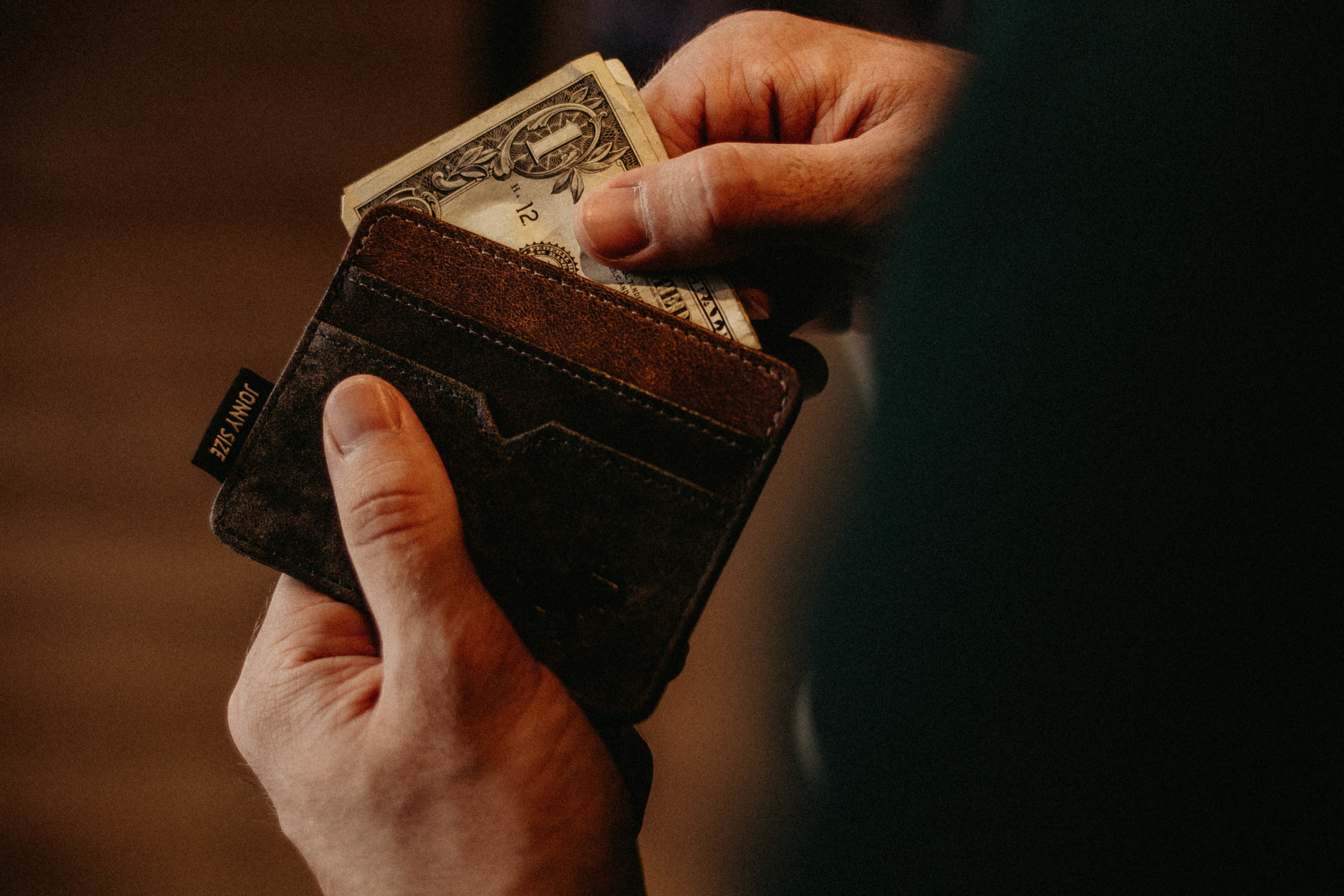 Keep some money handy