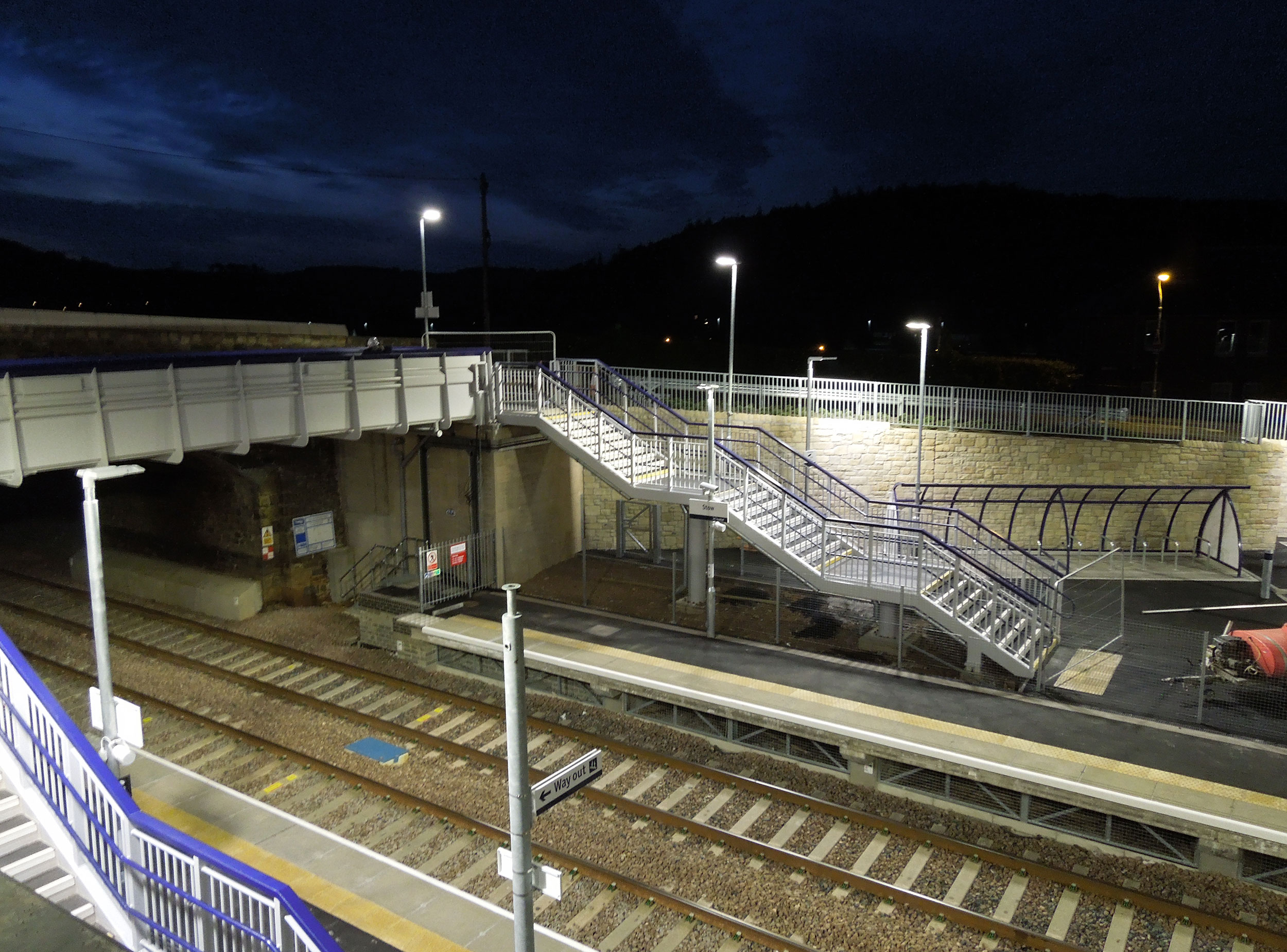 The high profile reinstatement of the Scottish Borders railway was the longest reopened domestic railway in the UK since the 1969 Beechings closures, and created seven new stations.
