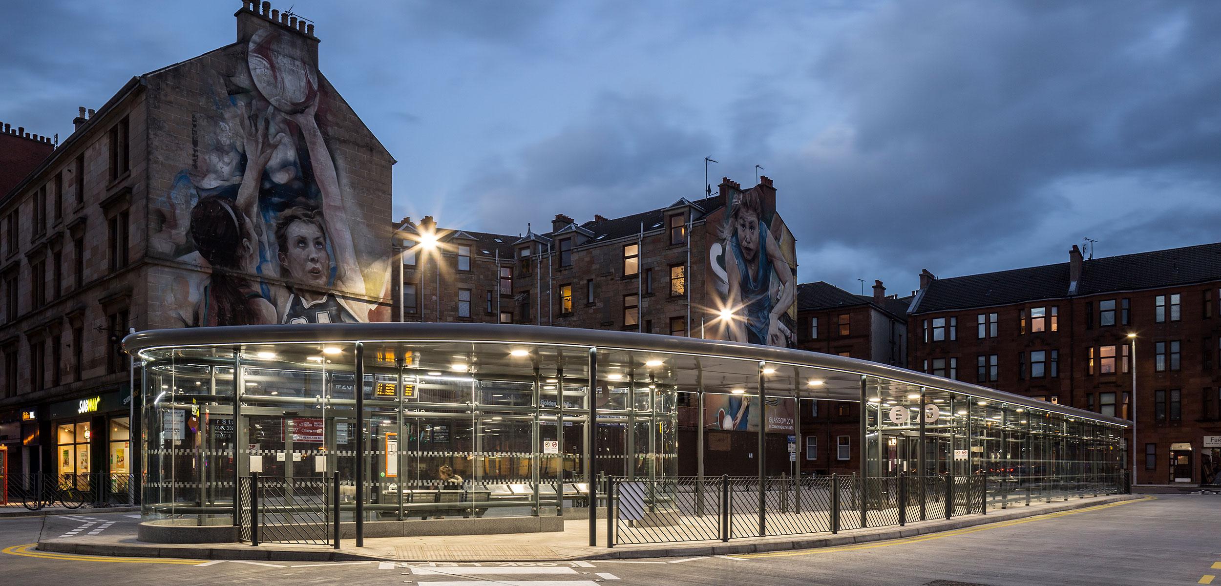 Partick Interchange - SVM Glasgow