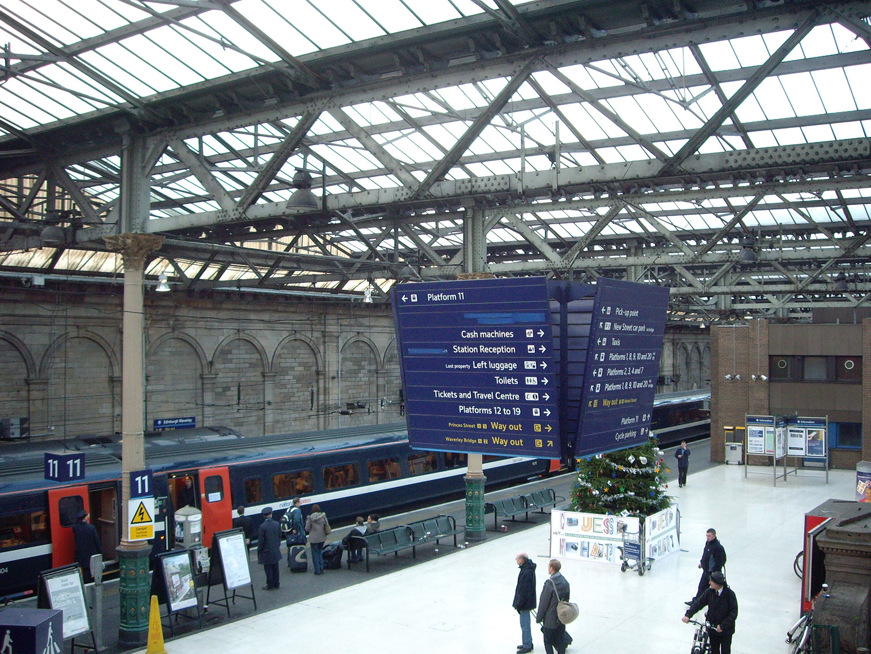 Waverley Station Edinburgh Project - SVM Glasgow