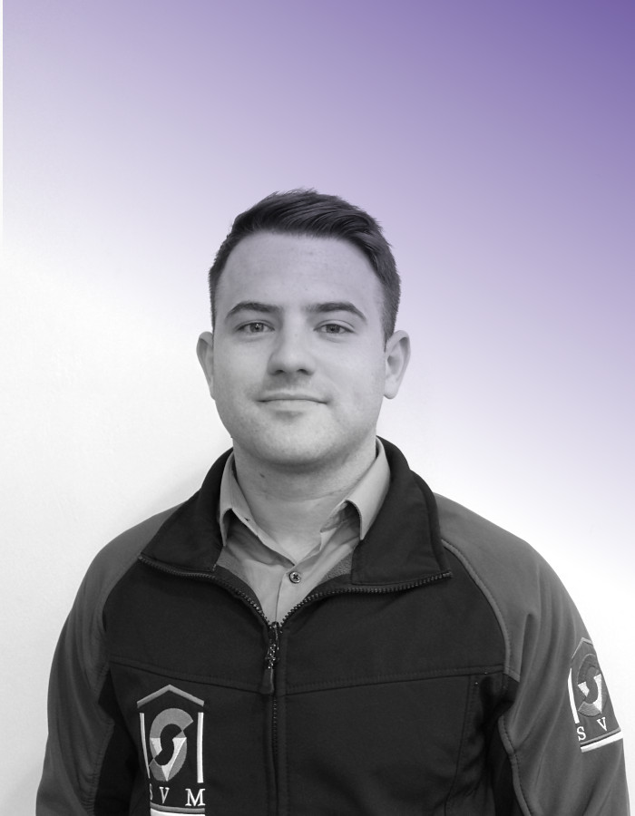 Ryan Anderson - Electrical EngineerBEng (Hons) Electrical Power Engineer (Working Towards), HNC Electrical Engineering, SVQ iii Installation Electrician.A member of SVM Glasgow since 2017, Ryan had already amassed experience in the Railway environment in an electrical installation and maintenance capacity. Now working towards degree qualification, Ryan's role includes supporting the senior engineers in large scale projects and mentored management of smaller scale projects throughout their design. Ryan has played a large part in projects involving works at Broomloan Depot, Stirling Station Bridge renewals and review of retail and operations supplies at Glasgow Central Station.