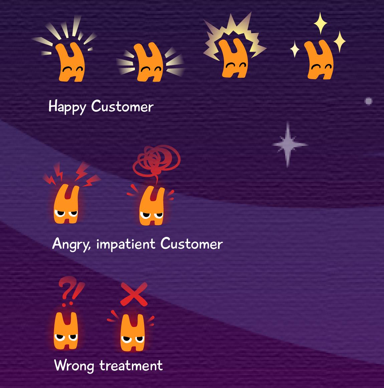 Mini emotes