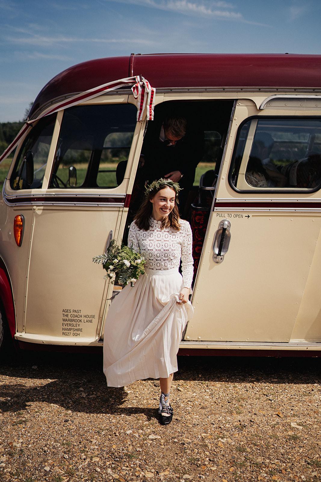 Bride Grace Mandeville miu miu wedding shoes, photo by Kit Myers, self portrait lace wedding dress