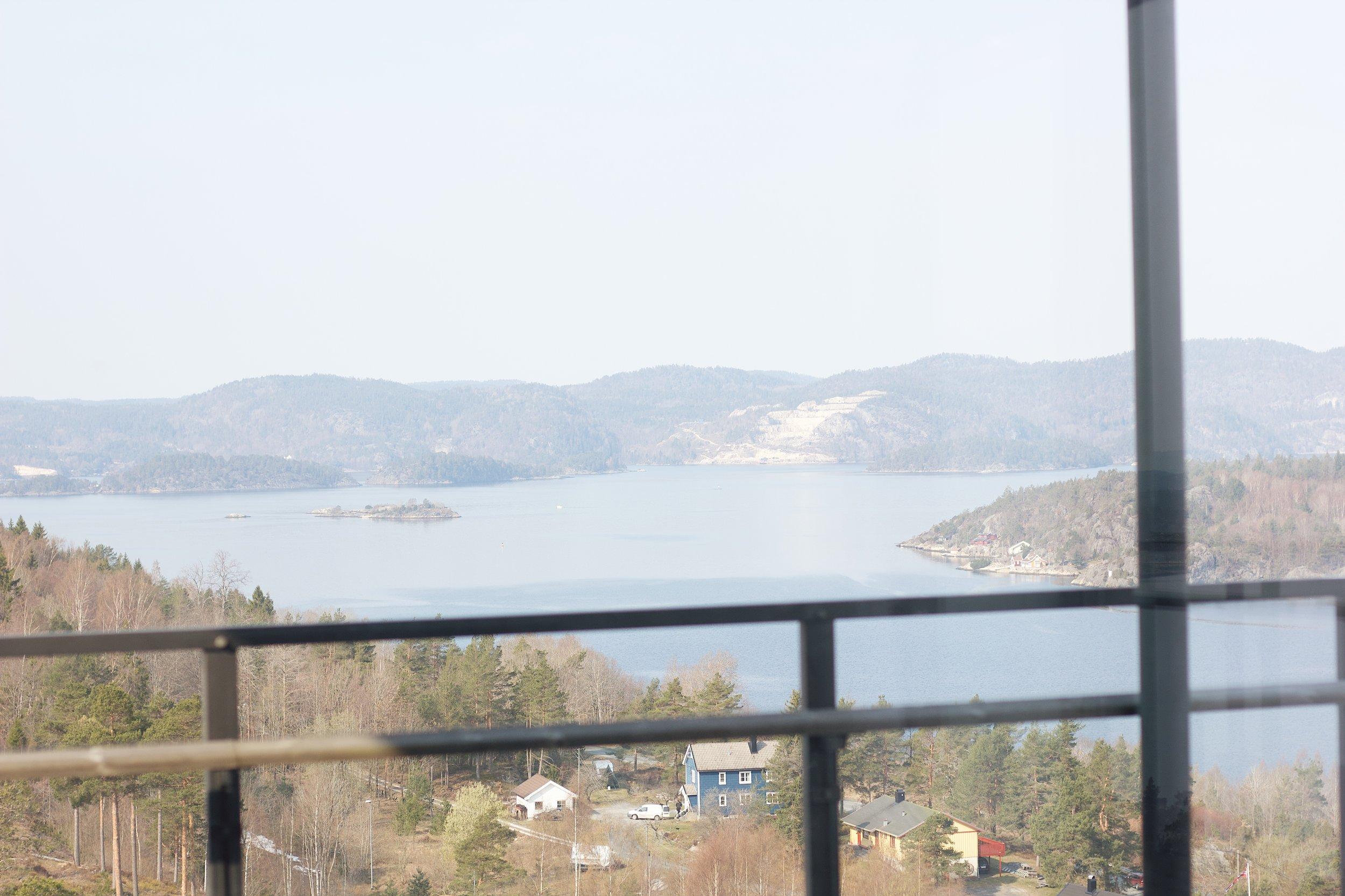 Min utsikt fra hotellrommet!