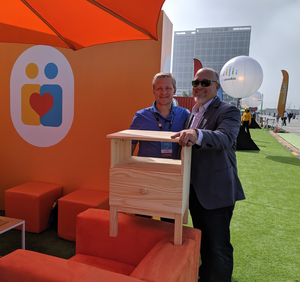 Give-To-Get-Cisco-Live-Furniture